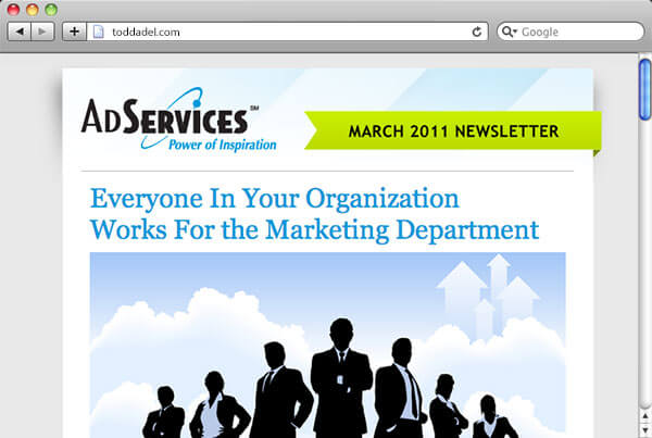 AdServices Email Newsletter