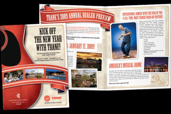 Trane Dealer Preview brochure