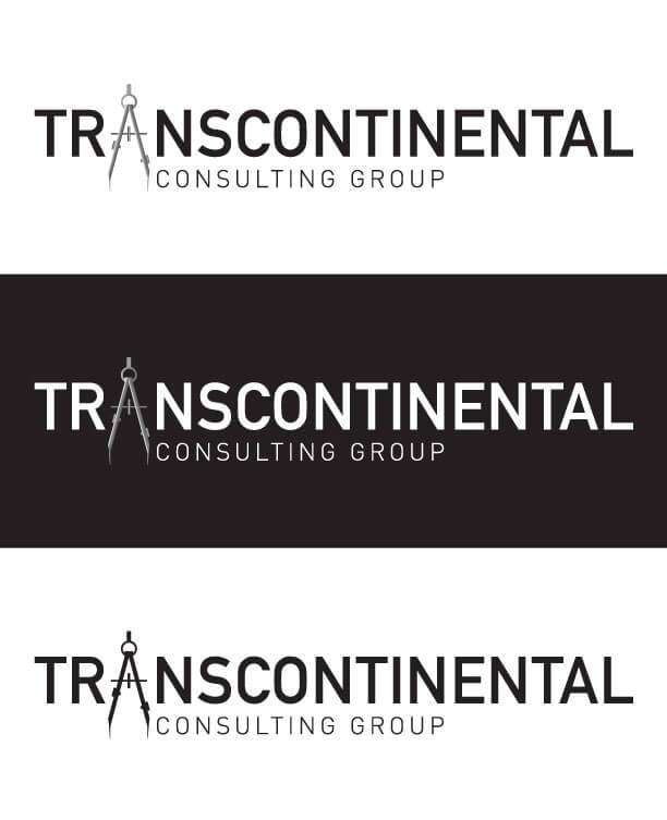 Transcontinental Consulting Group logo design