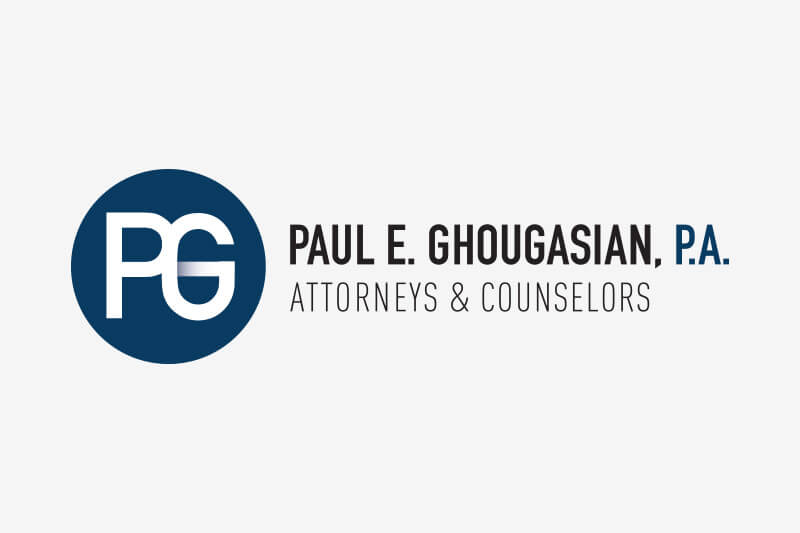 PEG Law logo design